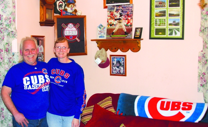 Cynthiana, Kentucky couple are Cubs fans to thecore